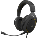 Corsair HS60 PRO STEREO headset Head-band Binaural Black,Yellow