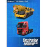 Astragon Construction Simulator 2015 Liebherr LTM 1300 6.2 (DLC6), PC/Mac PC/Mac English