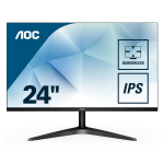 "AOC Basic-line 24B1XHS computer monitor 60.5 cm (23.8"") 1920 x 1080 pixels Full HD LED Flat Black"