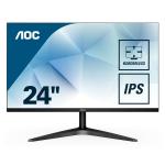 """AOC Basic-line 24B1XHS computer monitor 60,5 cm (23.8"""") 1920 x 1080 Pixels Full HD LED Flat Zwart"""