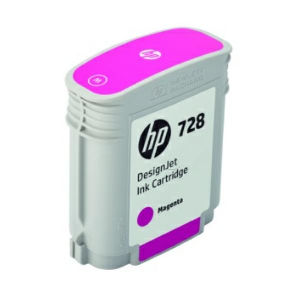 HP F9J62A (728) Ink cartridge magenta, 40ml