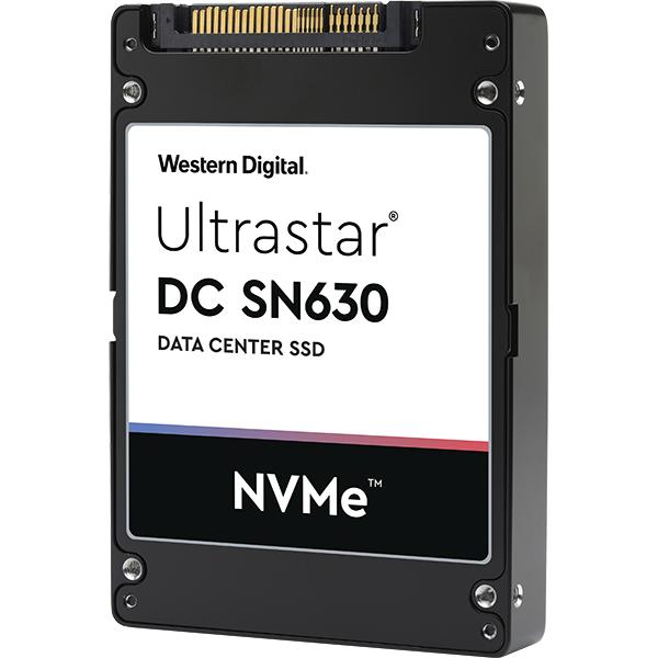 WESTERN DIGITAL ULTRASTAR DC SN630 U.2 960 GB PCI EXPRESS 3.0 3D TLC NVME