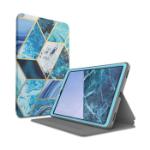 "i-Blason S-19TABA-8-NP-BK tablet case 10.1"" Flip case Blue, Marble color"