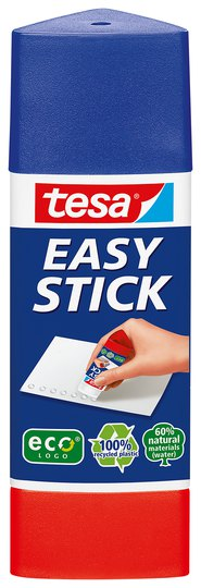 TESA EasyStick ecoLogo Triangular Glue Stick 25g 57030 PK12