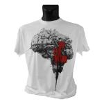 THE EVIL WITHIN Barbwired Brain Medium T-Shirt, White (GE1652M)