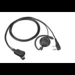Kenwood EMC-12W headphones/headset Ear-hook Black