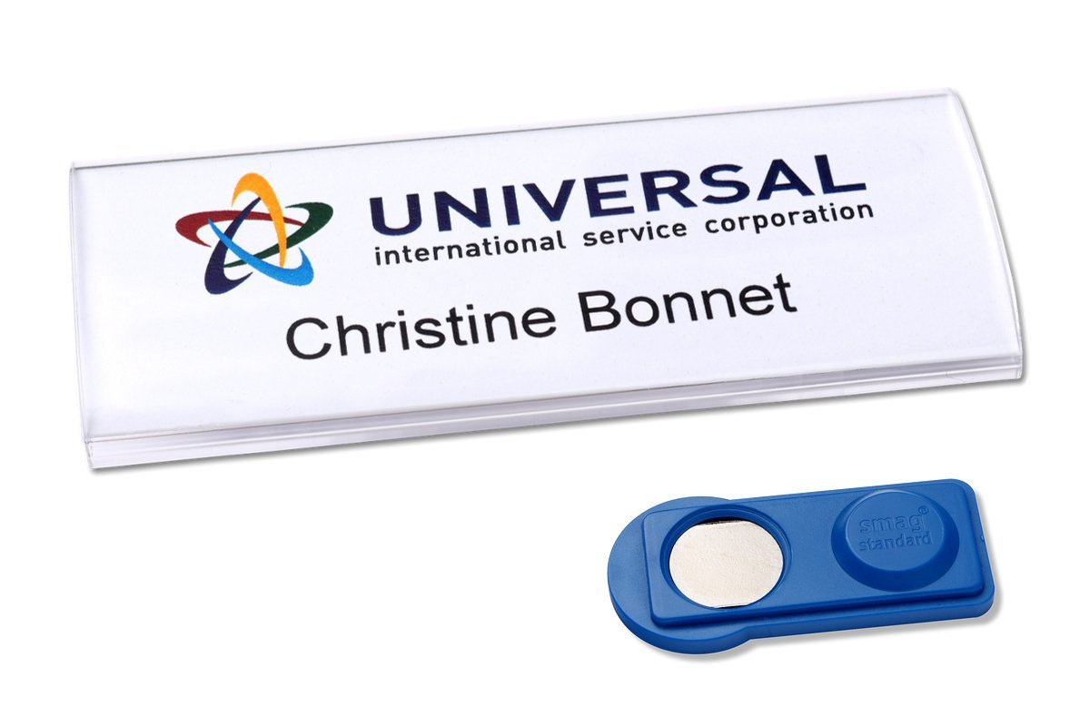 Avery Profil 30 Name Badge with Magnet Std 10 Badges 60 Labels