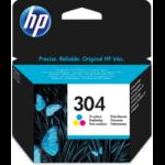 HP N9K05AE (304) Printhead cartridge color, 120 pages @ 5% coverage, 2ml