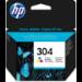 HP Cartucho de tinta Original 304 tricolor