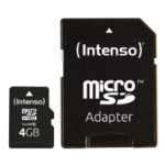 Intenso 4GB MicroSDHC memory card Class 10