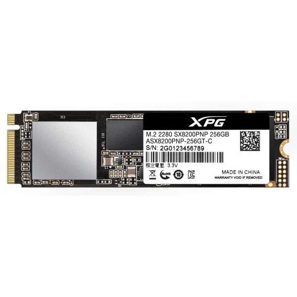 XPG SX8200 Pro M.2 256 GB PCI Express 3.0 3D TLC NVMe