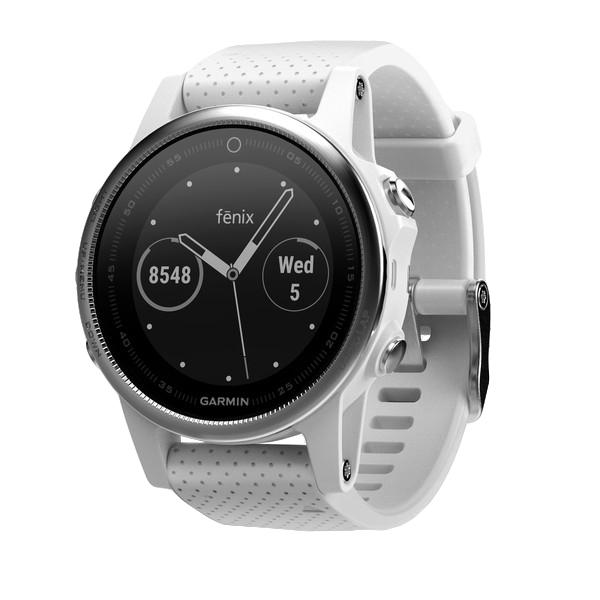Garmin fēnix 5S Bluetooth Silver,White sport watch