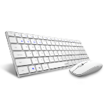 Rapoo 9300M keyboard RF Wireless + Bluetooth White