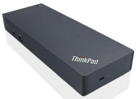Lenovo 40AC0135IT notebook dock/port replicator Docking USB 3.1 (3.1 Gen 2) Type-C Black