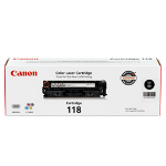 Canon Cartridge 118 Black Original Black, Cyan, magenta, Yellow