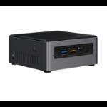Intel NUC NUC7I3BNH Black BGA 1356 i3-7100U 2.4 GHz