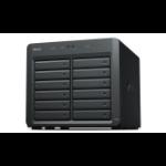 Synology DX1215 disk array 120 TB Desktop Black