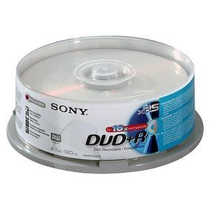 Sony DVD+R 16x, 25
