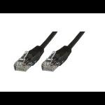 Microconnect V-UTP501SVP networking cable 1 m Cat5e U/UTP (UTP) Black