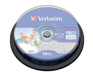 Verbatim BD-R SL, 10pc 25 GB 10 pc(s)