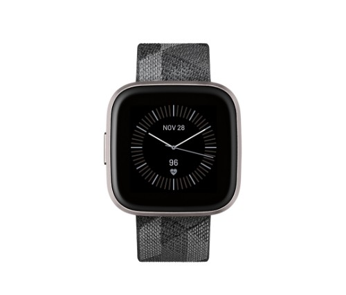 "Fitbit Versa 2 smartwatch Black,Grey AMOLED 3.55 cm (1.4"")"