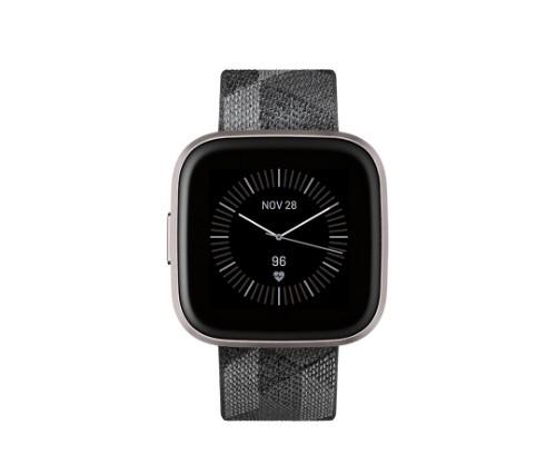 "Fitbit Versa 2 smartwatch AMOLED 3.55 cm (1.4"") Black, Gray"