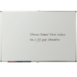 Metroplan Write-on vitreous enamel steel 120x150 cm whiteboard