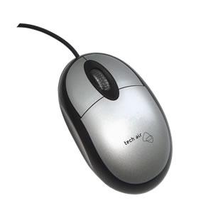 Tech air XM301v2 ratón 1000 DPI Ambidextro