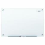 QUARTET INFINITY GLASS BOARD 450X600 WHITE