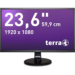 "Wortmann AG 3030029 23.6"" Full HD MVA Black computer monitor LED display"