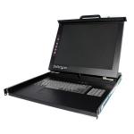 """StarTech.com Folding LCD KVM Rack Console 19"""" 1280 x 1024pixels Rack Console"""