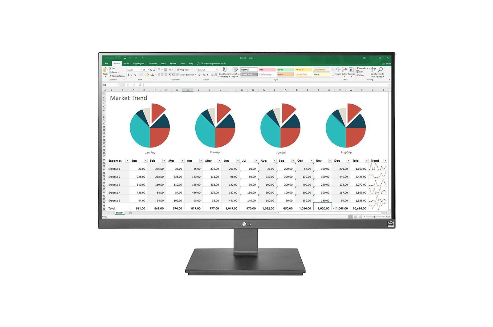 "LG 27UK670-B computer monitor 68.6 cm (27"") 4K Ultra HD LED Flat Anthracite"