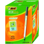 BIC Ecolutions Round Stic Black Stick ballpoint pen 60 pc(s)