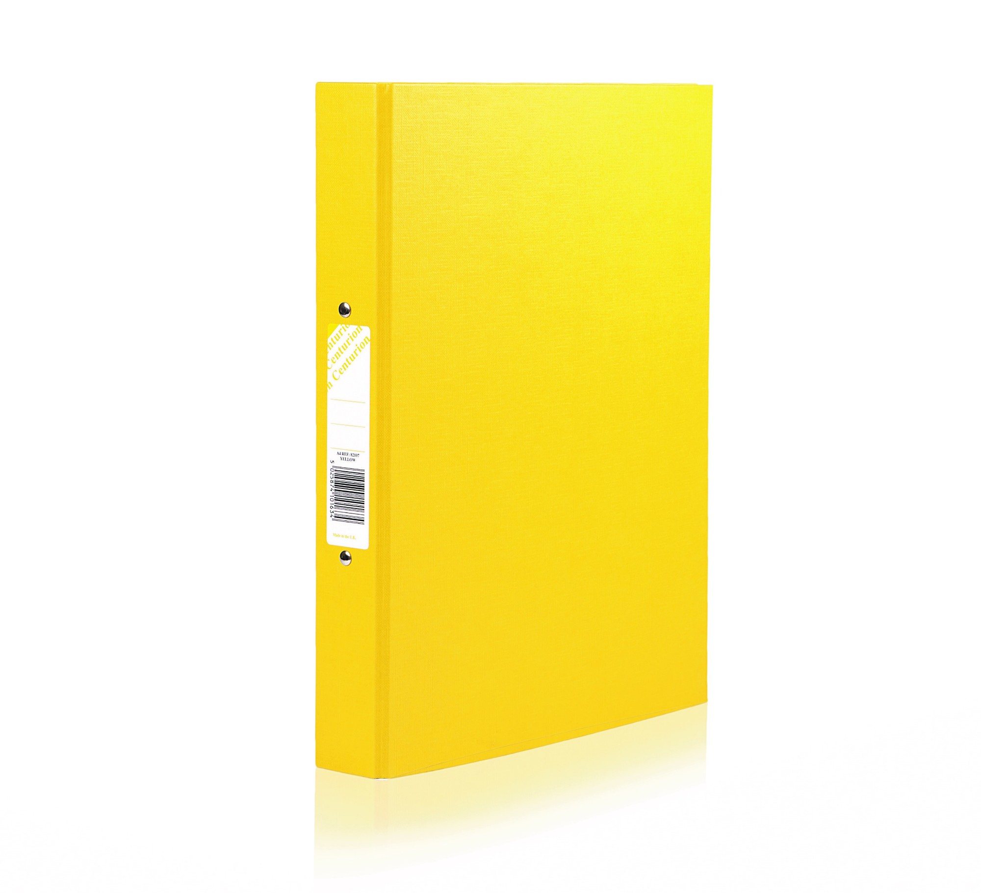 Concord Centurion Classic Ring Binder 2-OR 25mm A4 Yellow PK10