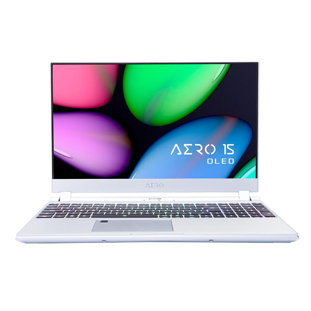 Gigabyte AERO 15S OLED WA-7UK5430SP Silver Notebook 39.6 cm (15.6