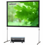 Celexon Mobile Expert - 244cm x 137cm - Front Projection - 16:9 - Fast Fold Projector Screen - Front Complete