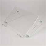 Newstar Tiltable Transparent Laptop Stand (Clear Acrylic)