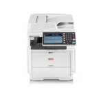 OKI MB562dnw A4 Mono Laser Multifunction, 45ppm Mono, 1200 x 1200 dpi, 3 year warranty (upon registration)