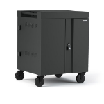 Bretford Cube Portable device management cart Charcoal