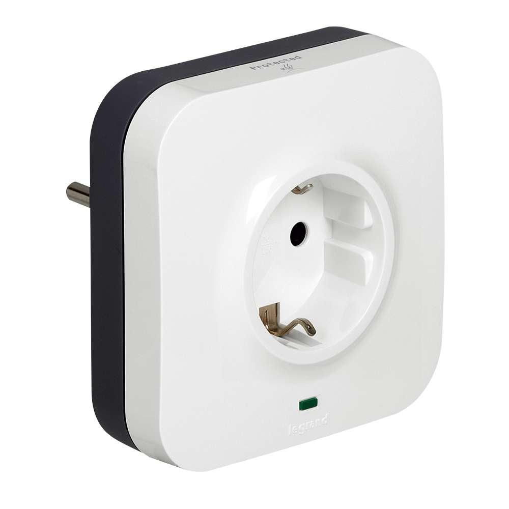 C2G 80788 White surge protector