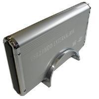 """Dynamode USB-HD-3.5SI-1-A 3.5"""" Silver HDD/SSD enclosure"""