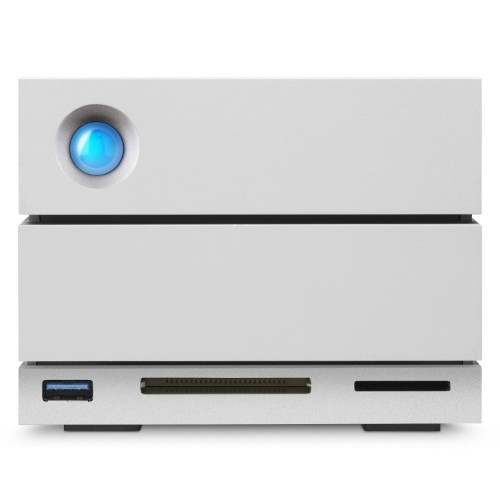LaCie STGB12000400 12TB 2Big Dock Thunderbolt-3 7200RPM External Hard Disk Array