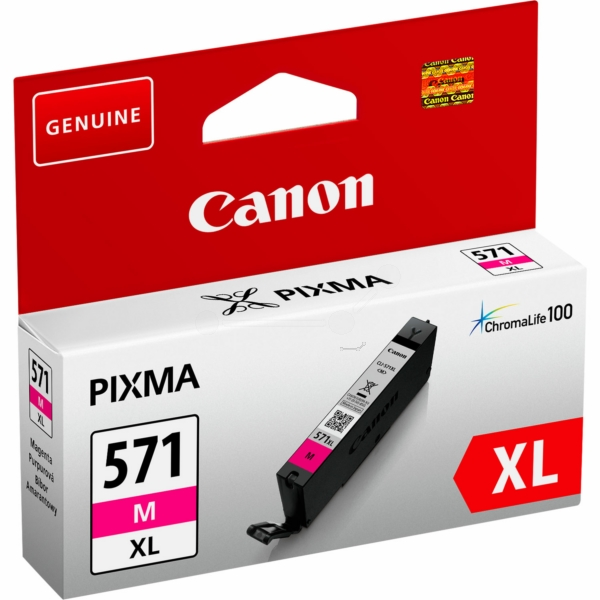 Canon 0333C001 (CLI-571 MXL) Ink cartridge magenta, 650 pages, 11ml