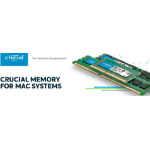 Micron (Crucial) Crucial 4GB (1x4GB) DDR3 1333 for MAC SODIMM 1.35V