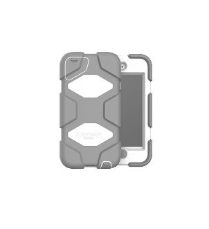 Griffin GFB-001-WHT MP3/MP4 player case Cover Grey,White Polycarbonate,Polyethylene terephthalate (PET),Silicone