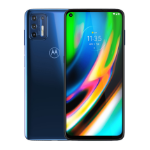 "Motorola Moto G9 Plus 17.3 cm (6.8"") Android 10.0 4G USB Type-C 4 GB 128 GB 5000 mAh Navy"