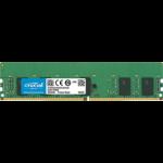 Crucial 8GB DDR4-2666 RDIMM memory module 2666 MHz ECC