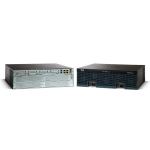 Cisco 3945 Ethernet LAN Zwart bedrade router