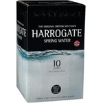 HARROGAT E WATER 10 LITRE BAG IN BOX