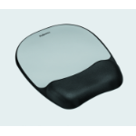 Fellowes 9175801 mouse pad Black, Silver